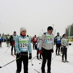 42. Tartu Maraton - Annika Sänna (3296), Ranne Jakobi (3445)