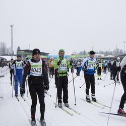42. Tartu Maraton - Jaanus Sibul (4042), Henrik Yli-Seppälä (4083), Mihkel Arro (4777)