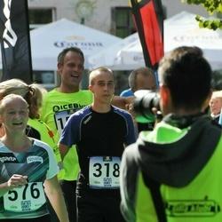 Jüri Jaansoni Kahe Silla jooks - Sven Gnezdov (318), Marge Põder (576)