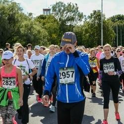 Jüri Jaansoni Kahe Silla jooks - Jana Pärn (2829), Anneli Vunk (2947), Margit Juhansoo (2956), Rivo Juhansoo (2957)