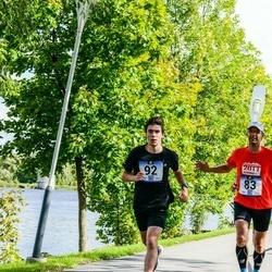 Jüri Jaansoni Kahe Silla jooks - Veljo Vask (83), Alvar Valtna (92)