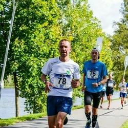 Jüri Jaansoni Kahe Silla jooks - Oliver Kulbas (75), Aleksandr Zurbi (78)