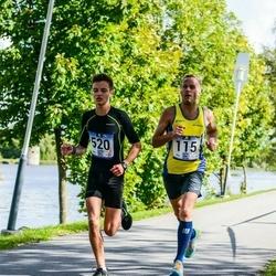 Jüri Jaansoni Kahe Silla jooks - Arnold Laasu (115), Marlon Tamme (520)