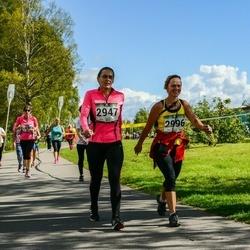 Jüri Jaansoni Kahe Silla jooks - Anneli Vunk (2947), Katrin Vainlo (2996)