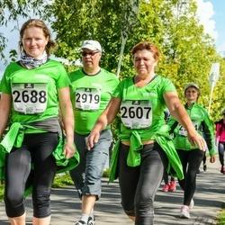 Jüri Jaansoni Kahe Silla jooks - Maarja Adamson (2607), Külli Kidra (2688), Hannu Törmälehto (2919)