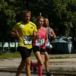 Jüri Jaansoni Kahe Silla jooks - Heidi Raju (361), Ando Hermsalu (2044)
