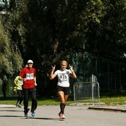 Jüri Jaansoni Kahe Silla jooks - Anneli Aidla (676), Arto Majaniemi (1615)