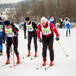 42. Tartu Maraton - Bjoern Austera (695), Aigars Krasts (777), Valmar Puistaja (948)