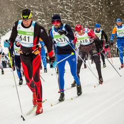 42. Tartu Maraton - Ahto Tatter (537), Jüri Pokk (610), Erkki Mäkinen (641)