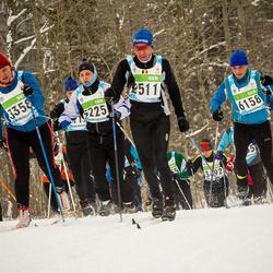 42. Tartu Maraton - Andre Hazard (2511), Riinu Nemvalts (3358), Theodor Vann (6158)