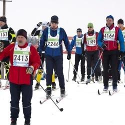 42. Tartu Maraton - Kunnar Klaas (2246), Kalev Visamaa (2413), Marek Laane (3189), Anders Hellman (4112), Bruno Born (4166)