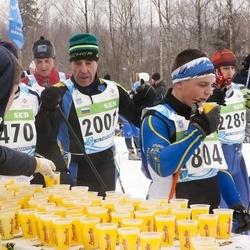 42. Tartu Maraton - Tenno-Raul Taimur (804), Anatoly Alferov (2001), Aimar Liiver (2289)