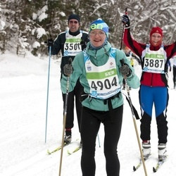 42. Tartu Maraton - Tarmo Kruuspan (3501), Annika Altoja (3887), Marju Villak (4904)