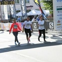 Jüri Jaansoni Kahe Silla jooks - Kaia Aasaleht (2603), Anneliis Novikov (2780), Kadi Vibus (2936)