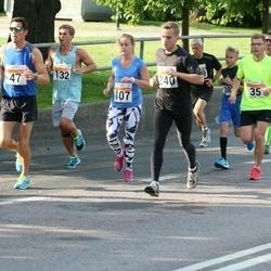 SEB Tallinna Maratoni Sügisjooks (10 km) - Mihkel Läänelaid (35), Andre Himuškin (47), Triinu Tamberg (107), Bobi Paadik (132), Jaakob Lambot (240)