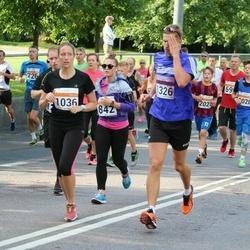 SEB Tallinna Maratoni Sügisjooks (10 km) - Birgit Käsper (842), Kristi Tüli (1036), Rain Pelapson (1326)
