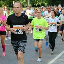 SEB Tallinna Maratoni Sügisjooks (10 km) - Gethe Rudissaar (2887), Oliver Tiks (4403), Anastasia Sakova (4847), Erki Ott (4866)