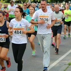 SEB Tallinna Maratoni Sügisjooks (10 km) - Ain Kaasik (2616), Mary-Liis Moorbach (4805), Anastasia Sakova (4847)