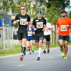 SEB Tallinna Maratoni Sügisjooks (10 km) - Kristjan Lusikas (140), Brandon Bachmann (195), Tomi Tynkkynen (361), Aigar Ojaots (444)