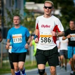 SEB Tallinna Maratoni Sügisjooks (10 km) - Aare Treier (586), Mango Oras (2139)