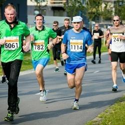SEB Tallinna Maratoni Sügisjooks (10 km) - Marko Zolotarjov (247), Arle Junolainen (782), Tarvo Vaarmets (1114), Valter Tänav (5061)