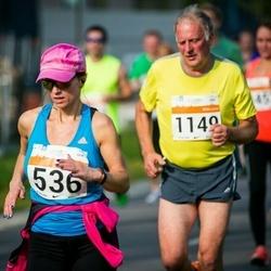 SEB Tallinna Maratoni Sügisjooks (10 km) - Külli Jaago (536), Aare Selge (1149)