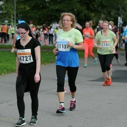 SEB Tallinna Maratoni Sügisjooks (10 km) - Annely Talirand (4727), Kristina Pau (4731), Marje Krusell (11137)
