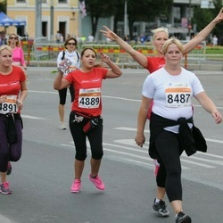 SEB Tallinna Maratoni Sügisjooks (10 km) - Katrina Vetserina (4889), Anastasia Skosyreva (4891), Kaire Kukk (8487)
