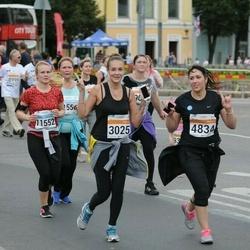 SEB Tallinna Maratoni Sügisjooks (10 km) - Viktoria Konjajeva (3025), Afina Berget-Sadõhov (4834), Nele Nahkur (11552)