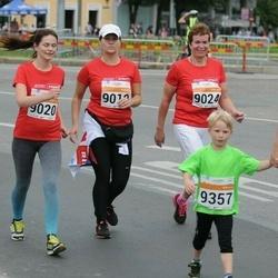 SEB Tallinna Maratoni Sügisjooks (10 km) - Silja Siska (9019), Eve Merisaar (9020), Sigrid Kaubi (9024), Liis Arnek (9356), Assar Rosin (9357)