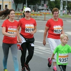 SEB Tallinna Maratoni Sügisjooks (10 km) - Silja Siska (9019), Eve Merisaar (9020), Sigrid Kaubi (9024), Assar Rosin (9357)