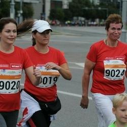 SEB Tallinna Maratoni Sügisjooks (10 km) - Silja Siska (9019), Eve Merisaar (9020), Sigrid Kaubi (9024)
