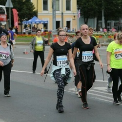SEB Tallinna Maratoni Sügisjooks (10 km) - Anastassia Pronitševa (8794), Jaanika Kutser (11303), Marleen Brikkel (11304)