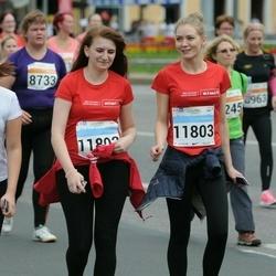 SEB Tallinna Maratoni Sügisjooks (10 km) - Aglaia Melnikova (10734), Maria Bažulina (11802), Viktoria Aro (11803)
