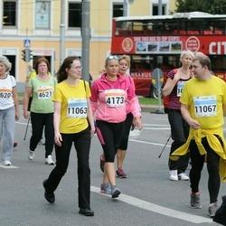 SEB Tallinna Maratoni Sügisjooks (10 km) - Anastasia Gerassimova (4173), Eve Nukk (11063), Marko Leheste (11067)