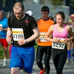 SEB Tallinna Maratoni Sügisjooks (10 km) - Brigitta Lees (3232), Anton Ussenko (4100)