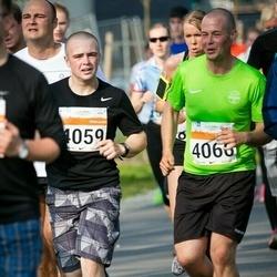 SEB Tallinna Maratoni Sügisjooks (10 km) - Andre Reiman (4059), Krister Kõrv (4066)