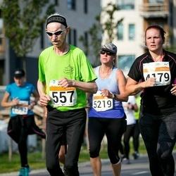 SEB Tallinna Maratoni Sügisjooks (10 km) - Aare Mäemurd (557), Marily Vassar (4179)
