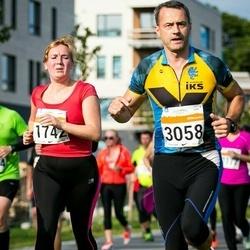 SEB Tallinna Maratoni Sügisjooks (10 km) - Anna Kulikova (1742), Kalle Rassadkin (3058)