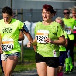 SEB Tallinna Maratoni Sügisjooks (10 km) - Silvi Lukjanov (2389), Anitra Lukjanov (2390)