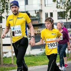 SEB Tallinna Maratoni Sügisjooks (10 km) - Helena Pajuste (2903), Arnaud Granal (4536)