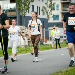 SEB Tallinna Maratoni Sügisjooks (10 km) - Sergei Balõbin (5530), Annely Põldaru (8970)