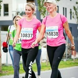 SEB Tallinna Maratoni Sügisjooks (10 km) - Anna-Liina Tiitma (10837), Heili Tiitma (10838)