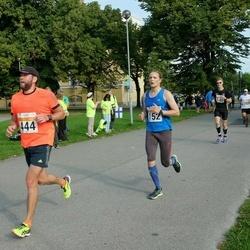 SEB Tallinna Maratoni Sügisjooks (10 km) - Lauri Ehrenpreis (152), Aigar Ojaots (444)