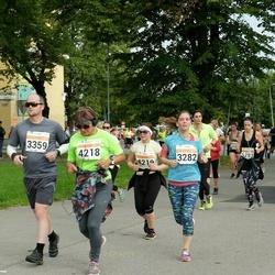 SEB Tallinna Maratoni Sügisjooks (10 km) - Annika Muhhametzjanova (3282), Roland Meritee (3359), Erika Tiganik (4218)