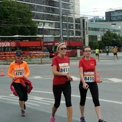 SEB Tallinna Maratoni Sügisjooks (10 km) - Natalia Pustovaya (8410), Anastassija Titova (8411)