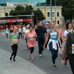 SEB Tallinna Maratoni Sügisjooks (10 km) - Janne-Merilyn Kureküla (8574), Maimu Kureküla (8575), Hele-Riin Palumaa (9216), Anna Gruzova (12212)