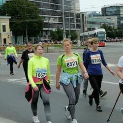 SEB Tallinna Maratoni Sügisjooks (10 km) - Kaija Seisonen (8527), Alvi Tellmann (9205), Mare Ilumets (10671)