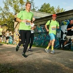 SEB Tallinna Maratoni Sügisjooks (10 km) - Aare Aruniit (409), Aleksei Onohhov (508)