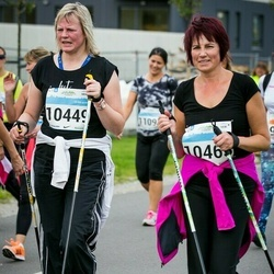 SEB Tallinna Maratoni Sügisjooks (10 km) - Age Karropach (10449), Eda Karro (10465)
